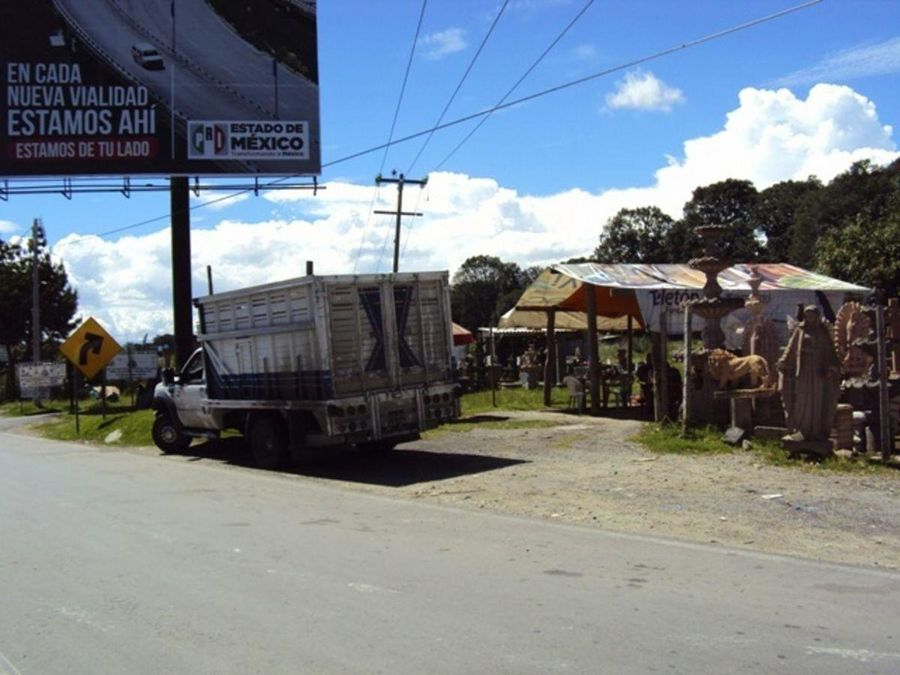 terrenolote venta carretera mexico toluca ocoyoacac