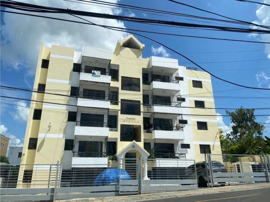 apartamento de alquiler en la urbanizacion el paraiso en santiago