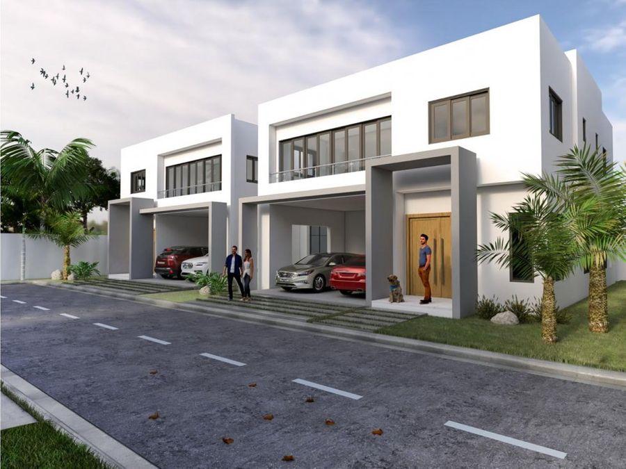 proyecto de casas en las carmelitas en santiago