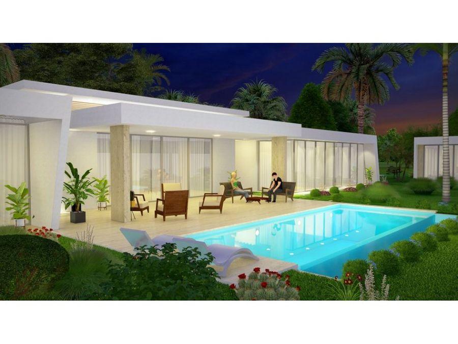 villas en las terrenas con piscina privada