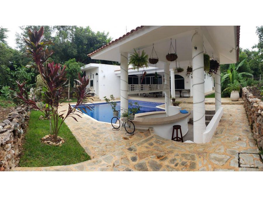 preciosa casa en residencial campestre muy cerca de valladolid