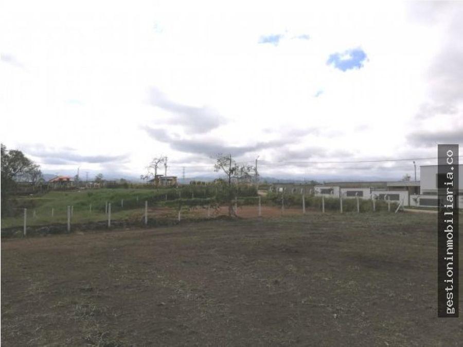 lote 2564m2 parcelacion campestre ciudad verde