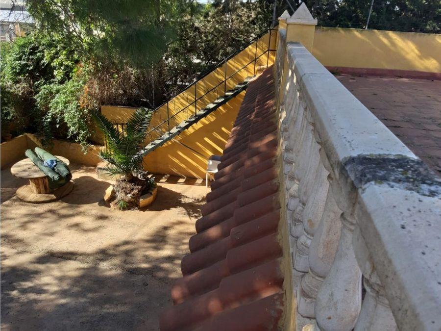casa de campo con jardin en cartagena