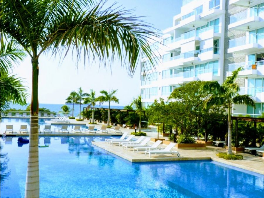 venta de apartamento en playa dormida resort
