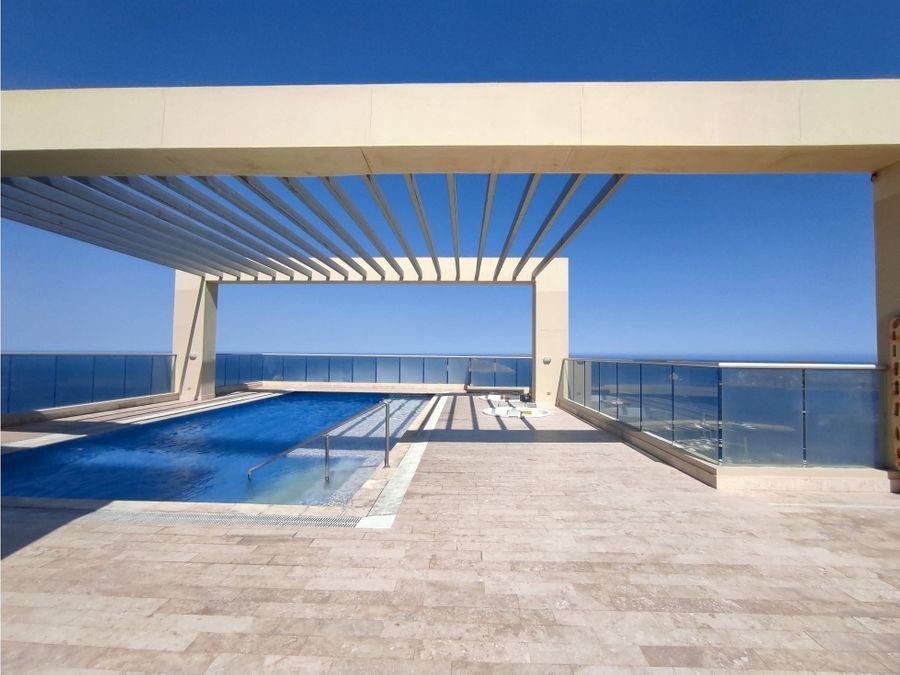 venta de apartamento vista al mar en santa marta