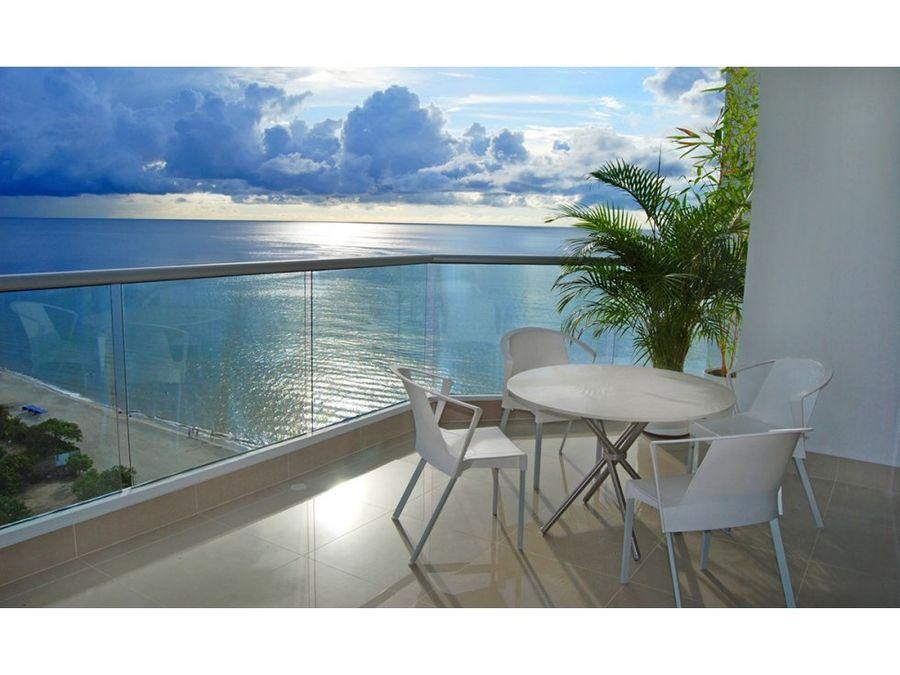 venta apartamento en playa salguero santa marta