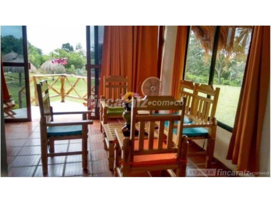 venta de eco hotel en palomino guajira