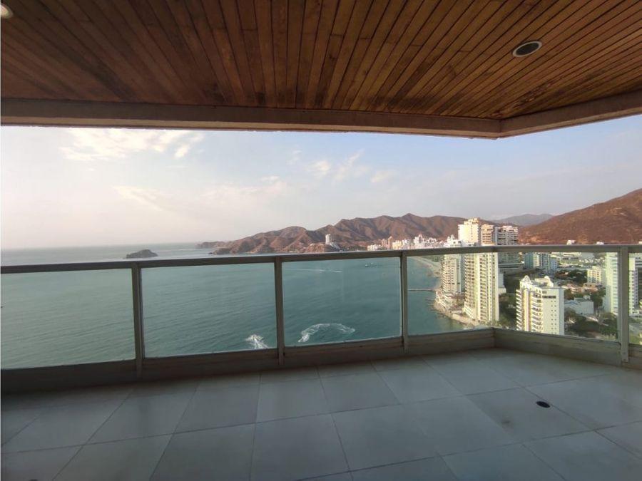 venta de penthouse frente al mar