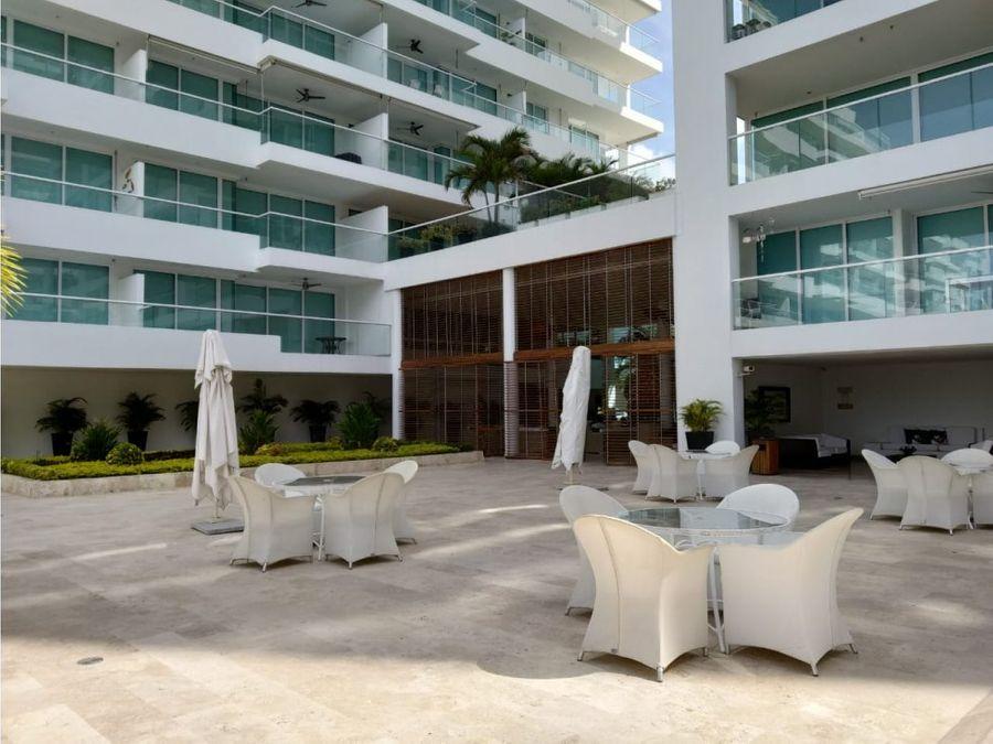 apartamento en arriendo en resort santa marta