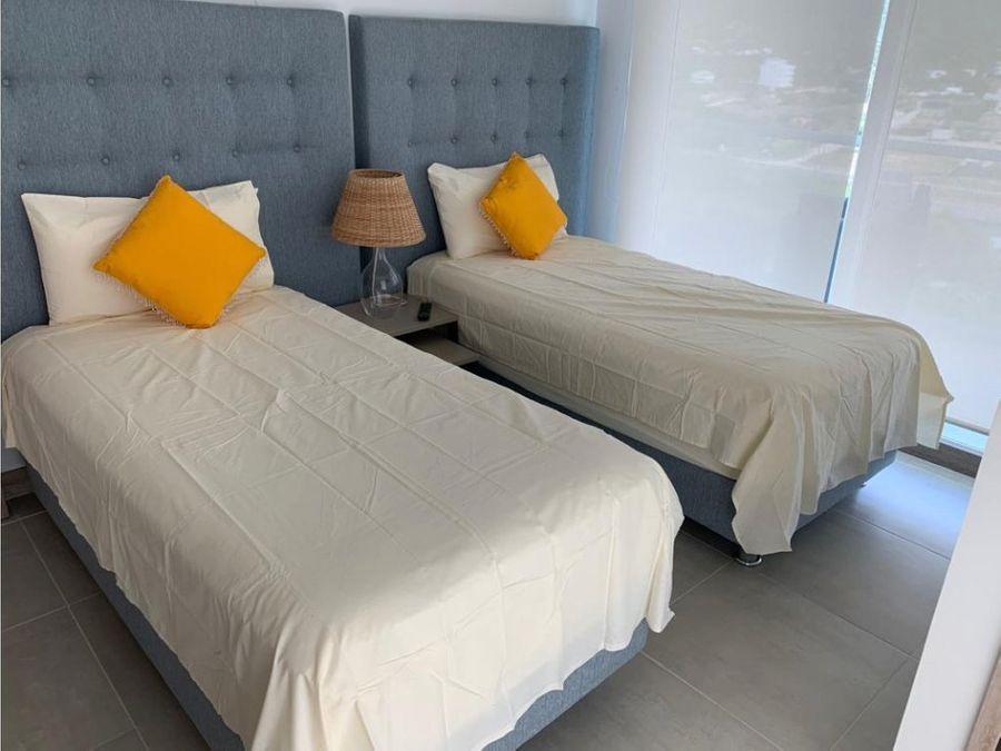 venta de apartamento para estrenar en playa dormida dos