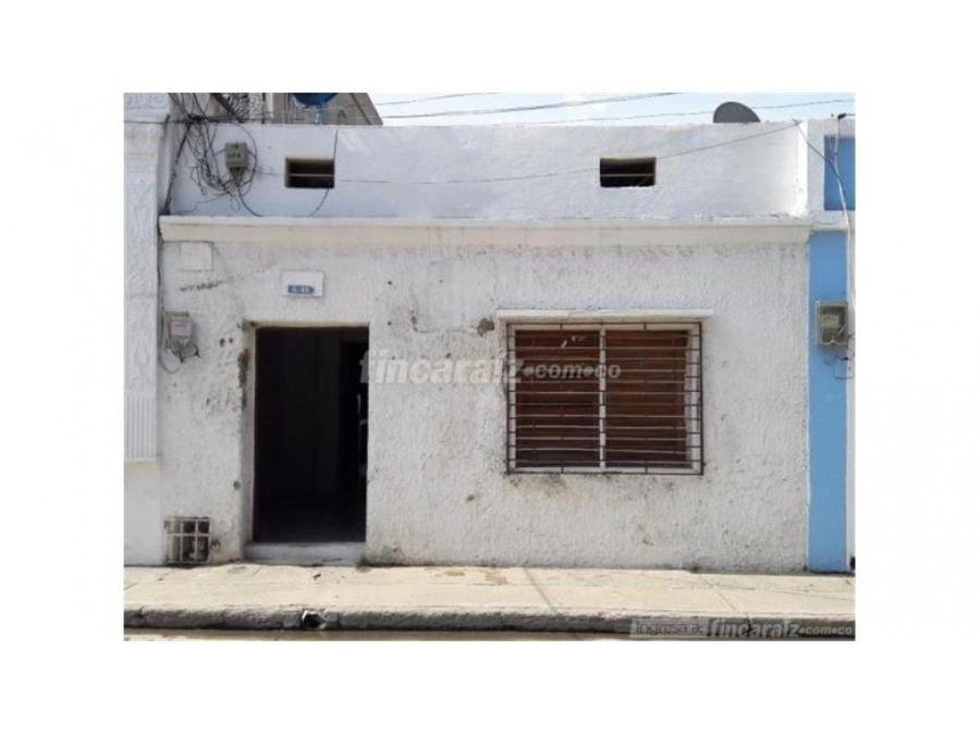 venta de casa en el centro santa marta