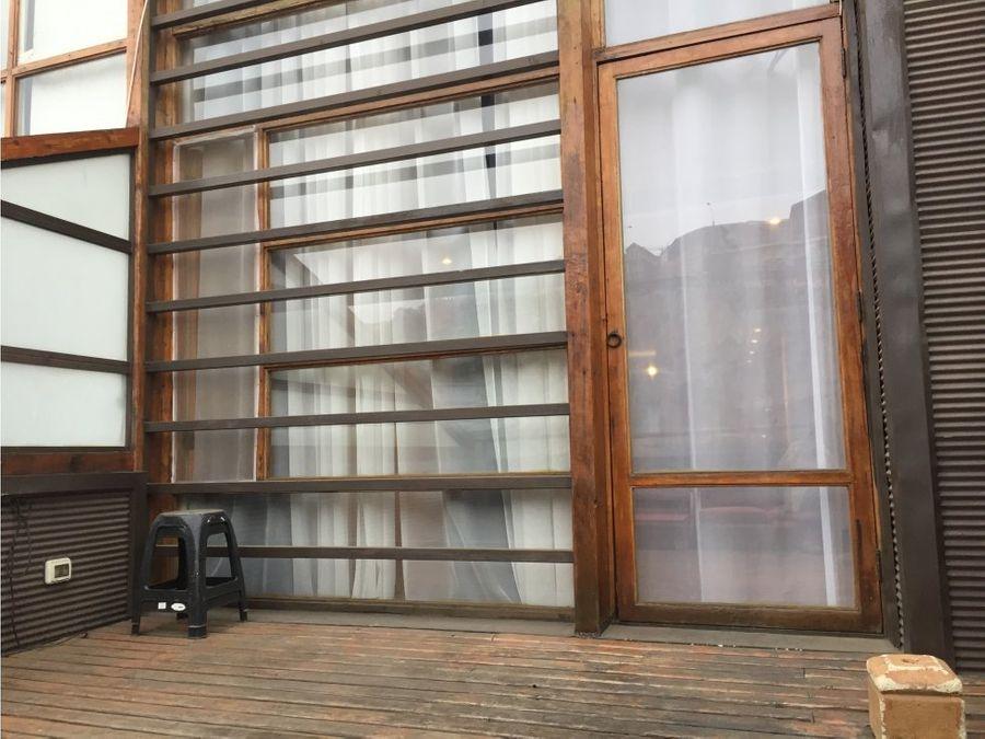 arriendo moderno loft en valparaiso