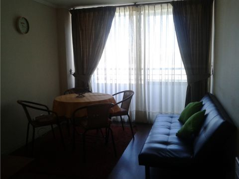 depto 2 dormitorios amoblado centro vina