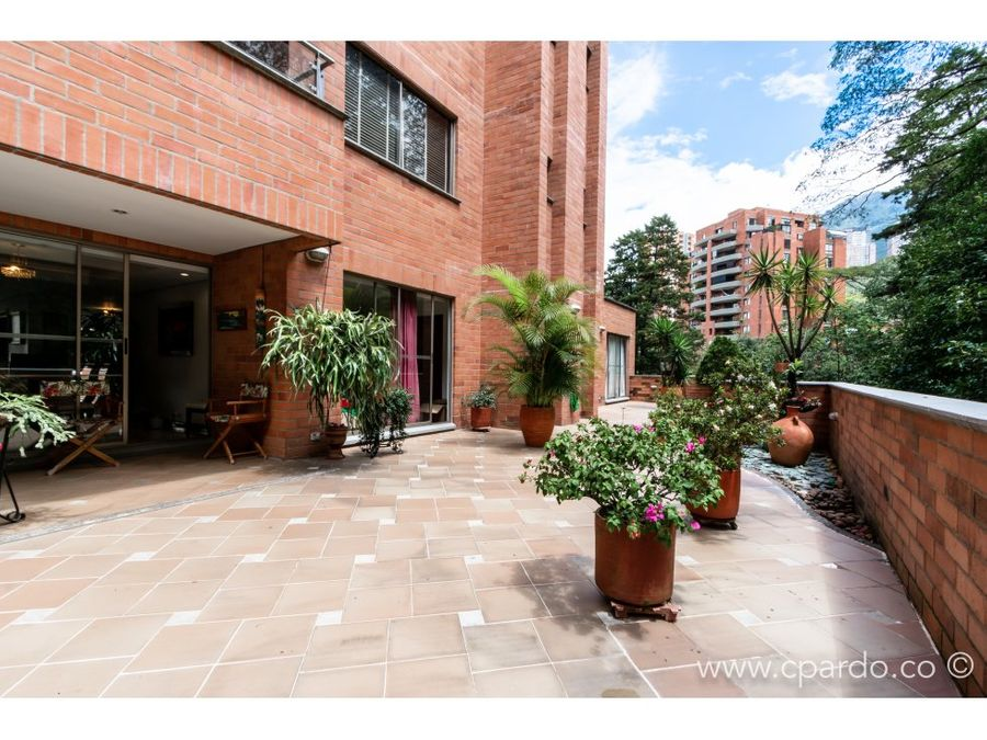 apartamento con terraza sector las santas