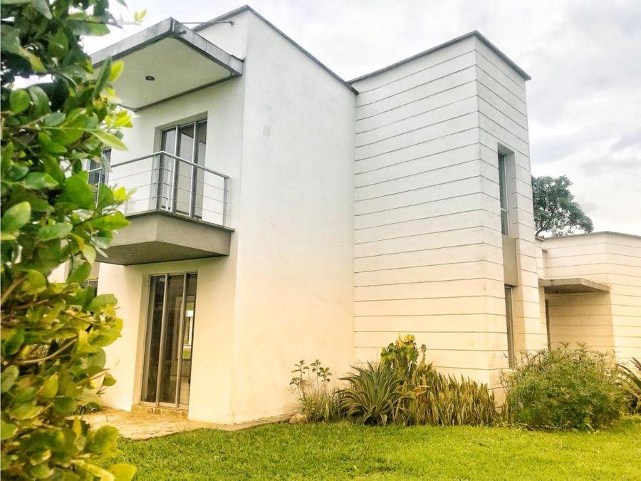 venta casa campestre san antonio