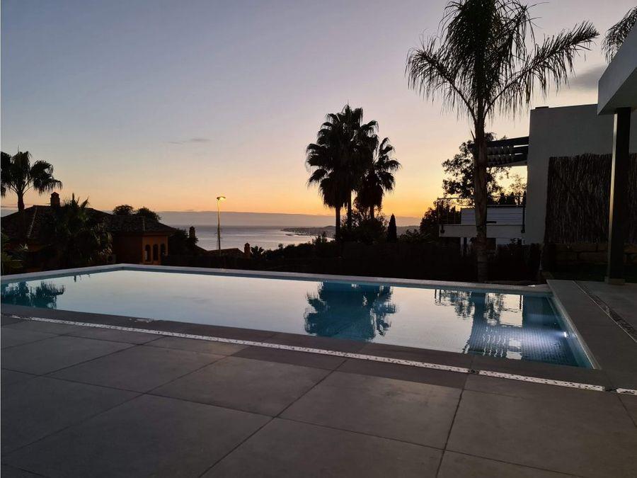 villa estrenar benalmadena vistas al mar