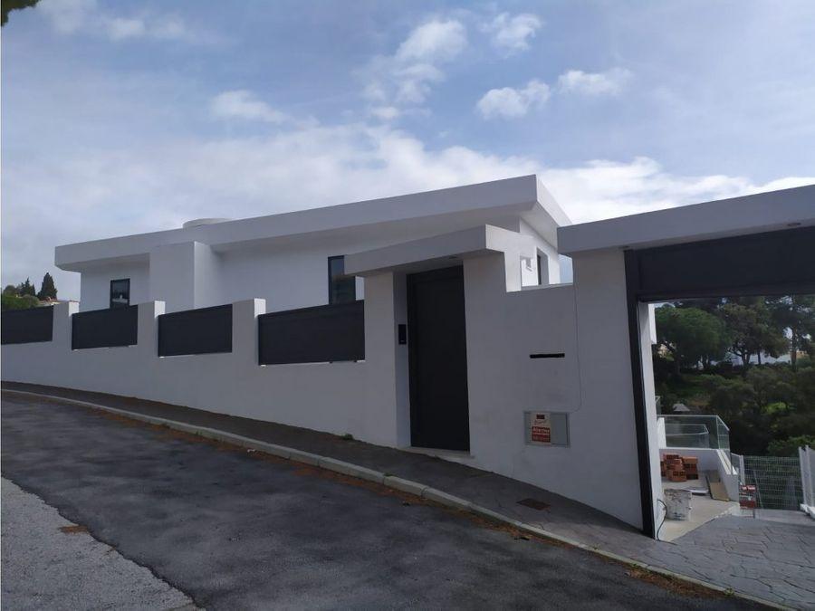 venta villa elviria obra nueva finalizada