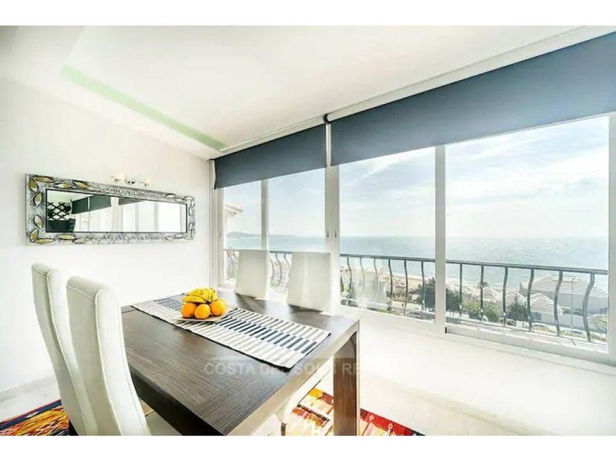 venta apartamento atico vistas al mar 180o