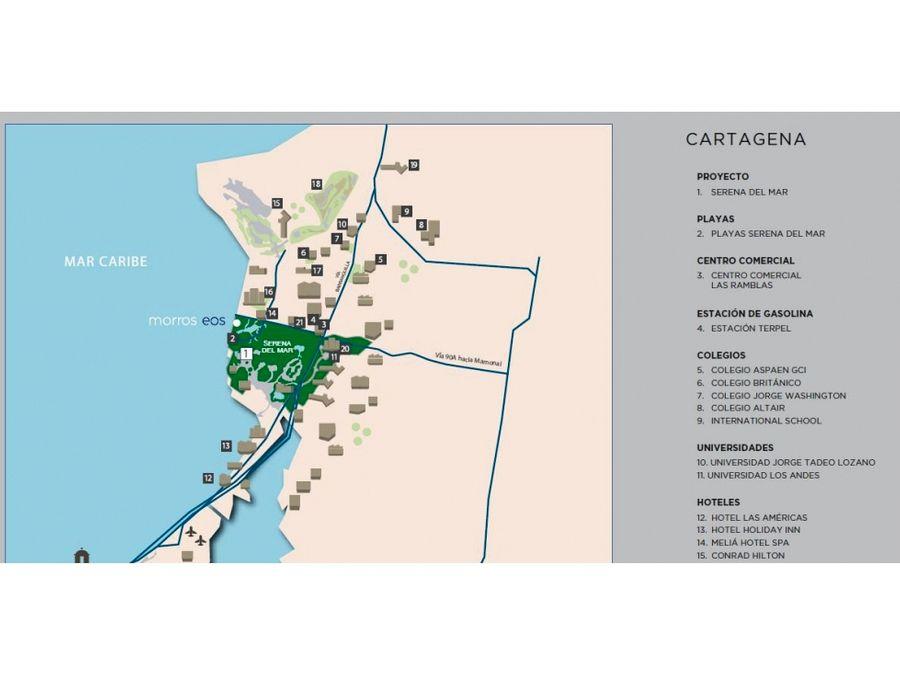 morros eos apartamentos en venta en cartagena zona norte