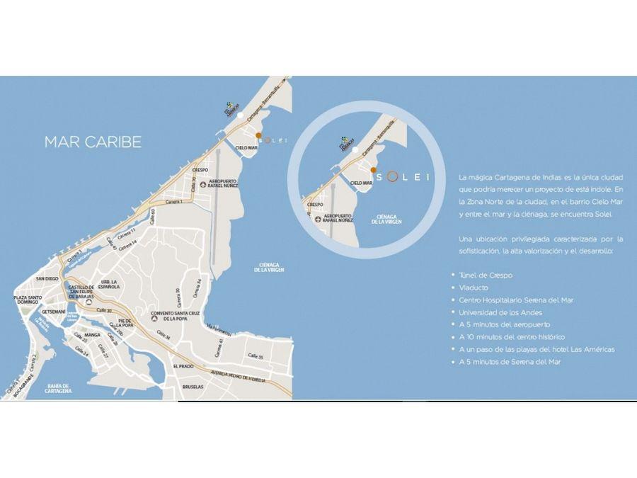 solei proyecto de apartamentos en cielo mar cartagena