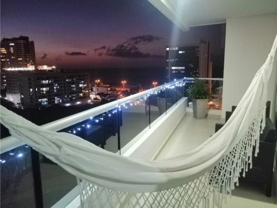 venta apartamento en cartagena laguna del cabrero