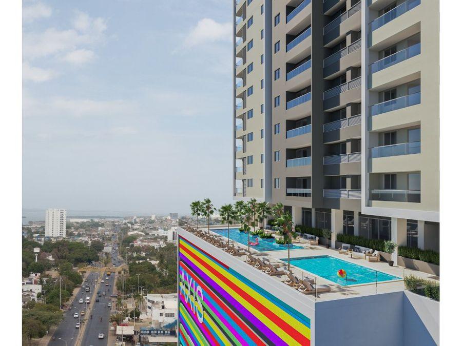 axis proyecto de apartamentos la troncal cartagena de indias