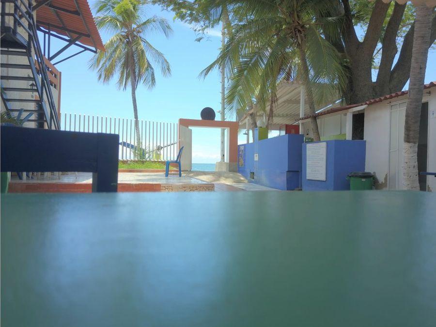 lote hotel pozos colorados frente al mar