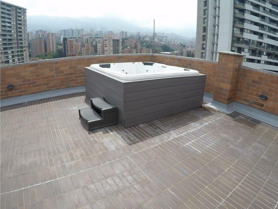 penthouse con terraza y jacuzi envigado zuniga