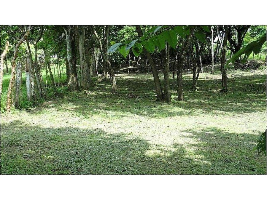 terreno con uso de suelo mixto en la garita