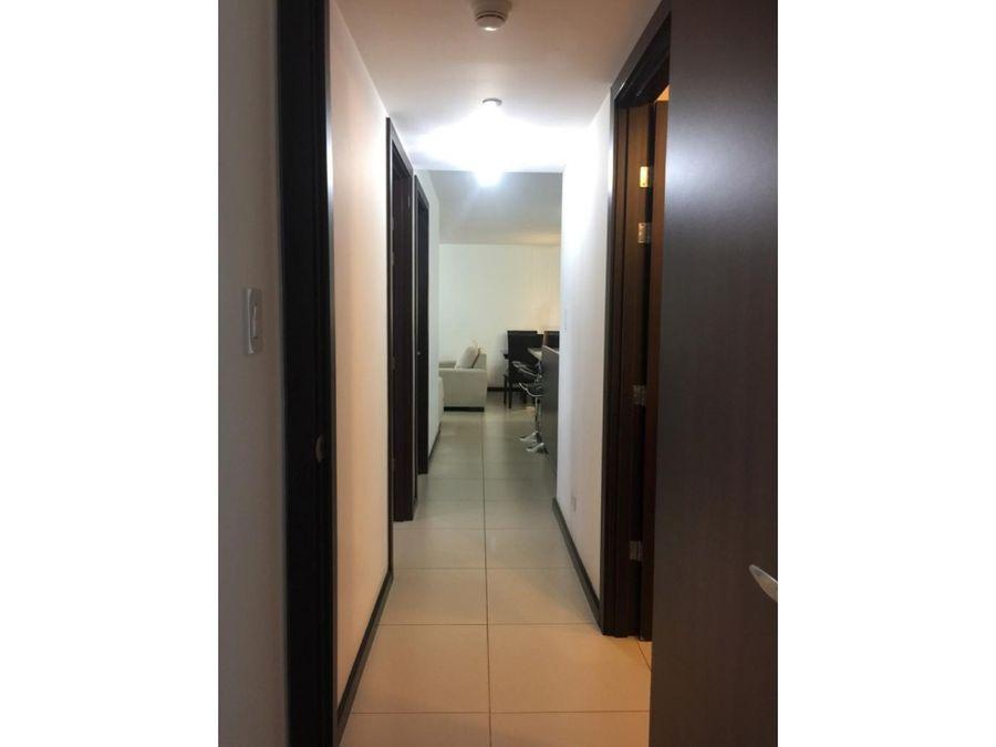 espacioso apartamento amoblado en rohrmoser 1200
