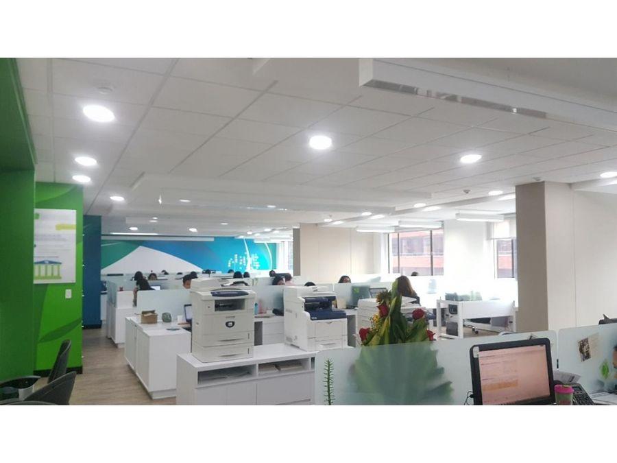 oficina en la zona financiera de bogota