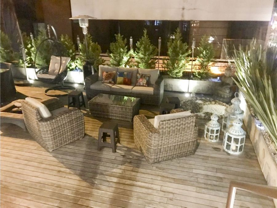apartamento en chico reservado con terraza