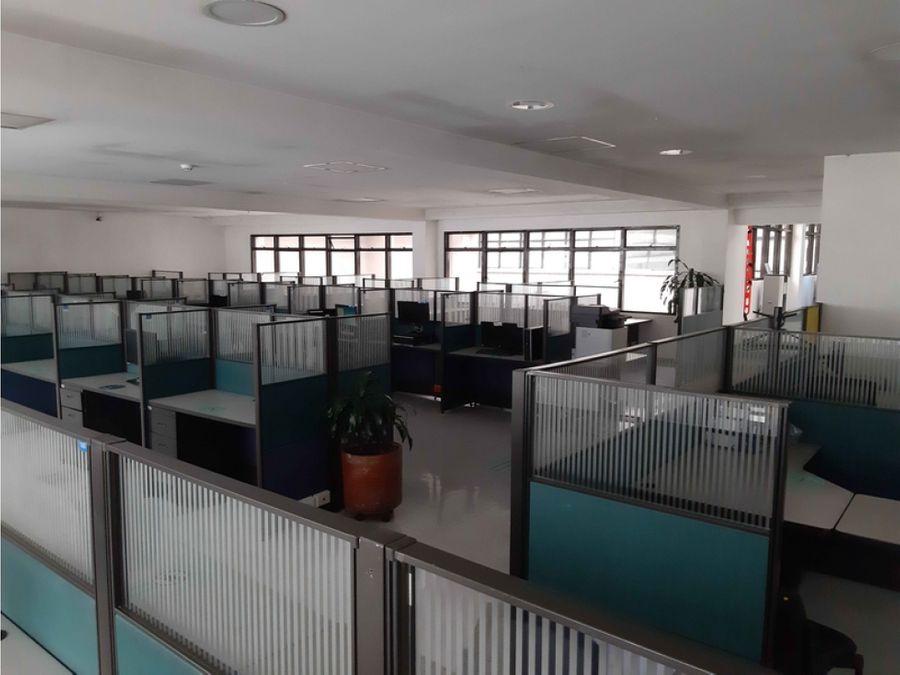 oficina en puente aranda call center amoblada