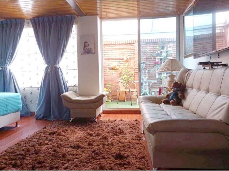 apartamento en cedritos con terraza