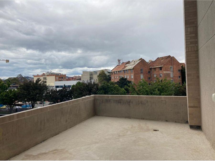 apartaestudio con terraza para estrenar en la castellana