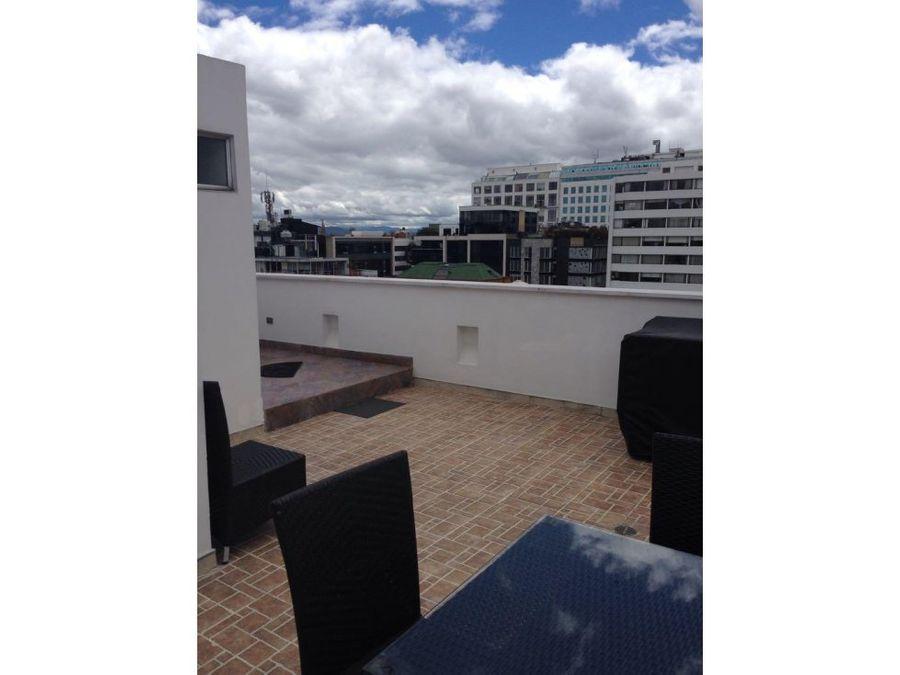 penthouse con terraza en chico reservado