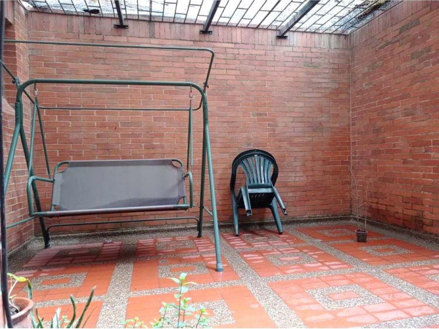 apartamento en santa paula con terraza