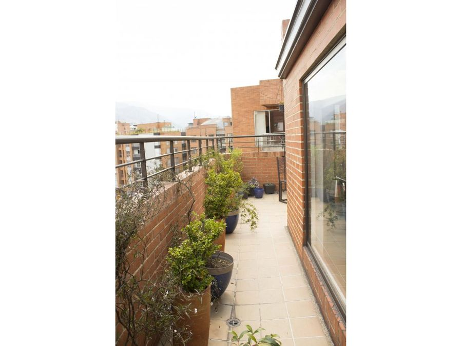 penthouse en santa barbara con terraza