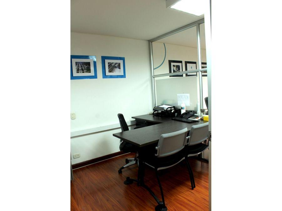 oficina amoblada en la cabrera