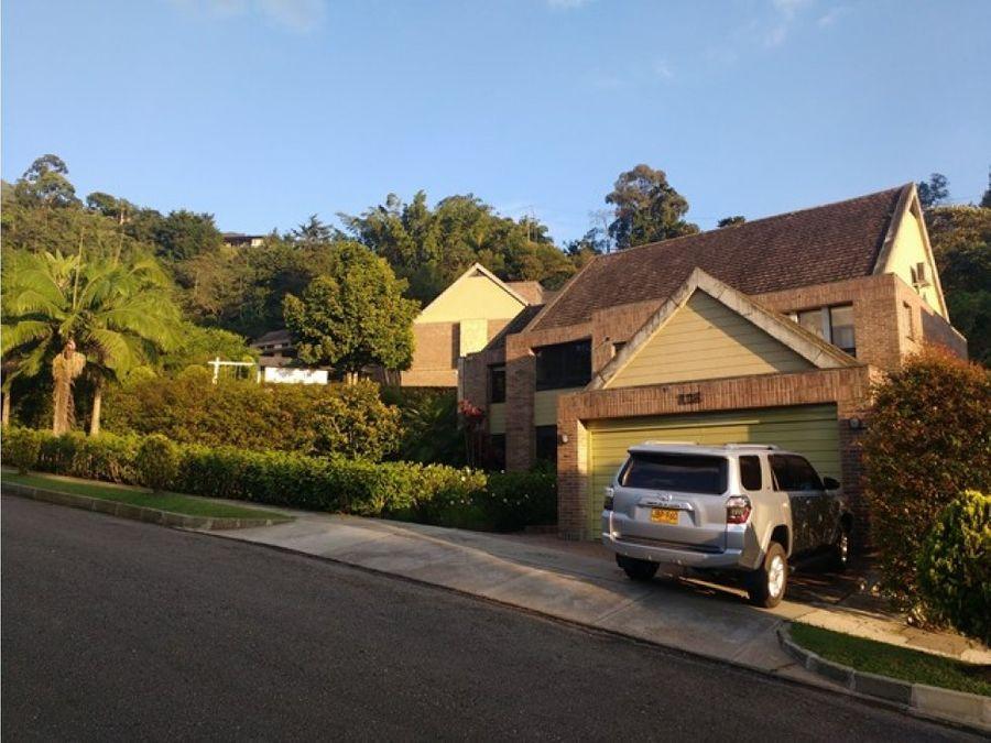 en venta casa en el poblado los balsos