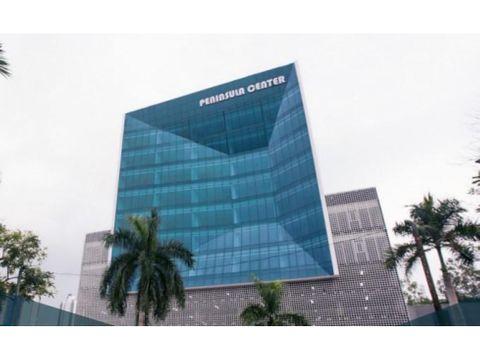 alquiler oficinas peninsula center costa del este