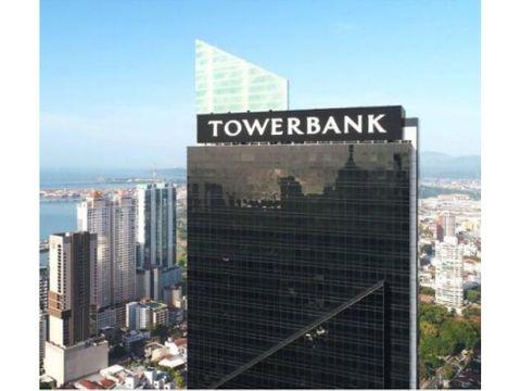 alquiler piso de oficinas en towerbank calle 50