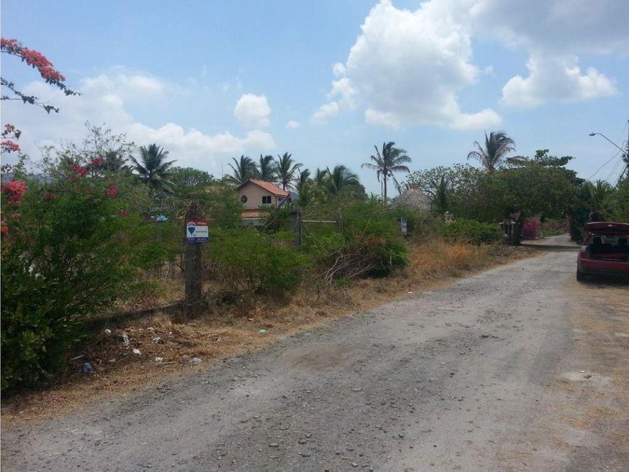 venta terreno en playa malibu nueva gorgona