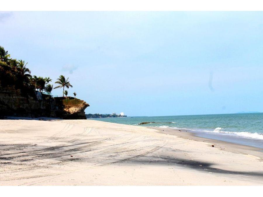 venta espectacular propiedad de playa en punta barco