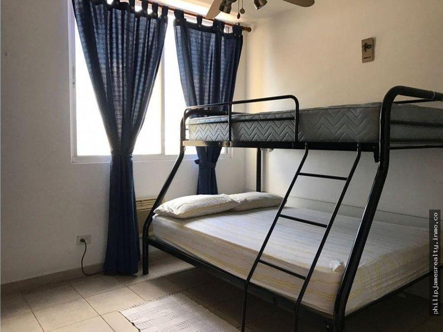 venta o alquiler 2 recamaras en colonial towers villa caceres