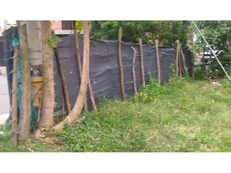 extenso lote para proyecto vis en copacabana bajo precio