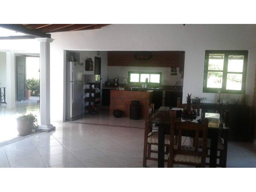 hermosa casa finca en parcelacion copacbana