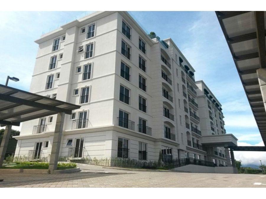 exclusivo apartamento en torre de condominios en curridabat