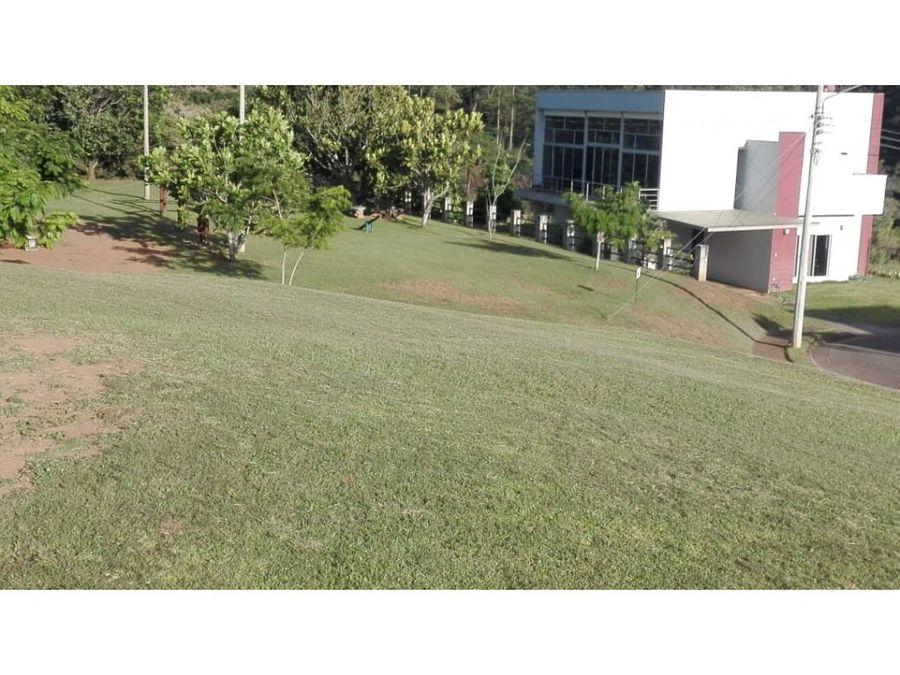 55000 lote 500 m2 grecia condominio valle las flores vhp lv409