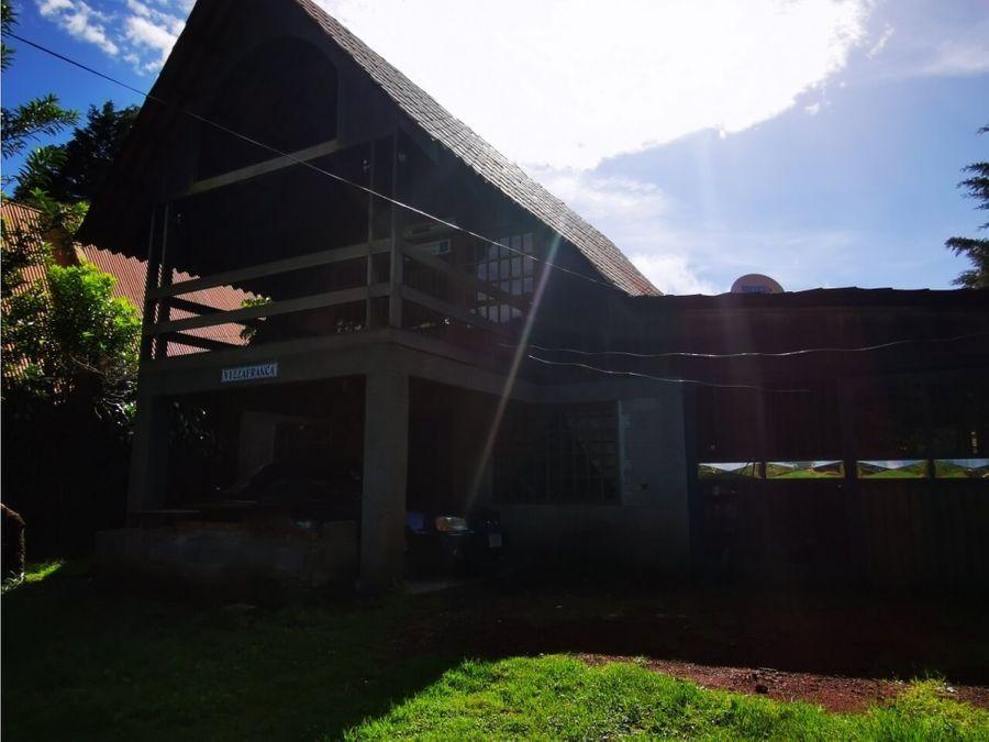 casa fraijanes alajuela tipo chalet